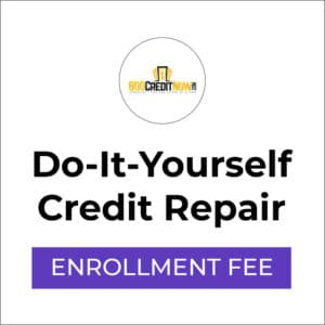 Do-It-Yourself Credit Repair Enrollment Fee